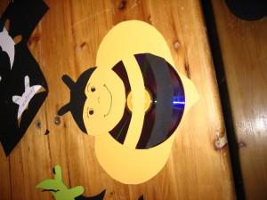 CD-s méhecske